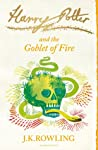 Book cover for Harry Potter and the Goblet of Fire (Harry Potter, #4)