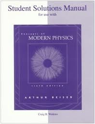 Student Solutions Manual to Accompany Concepts of Modern Physics