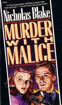 Murder with Malice by Nicholas Blake