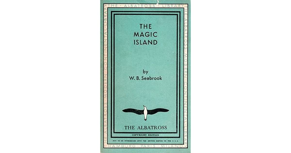 William seabrook the magic island