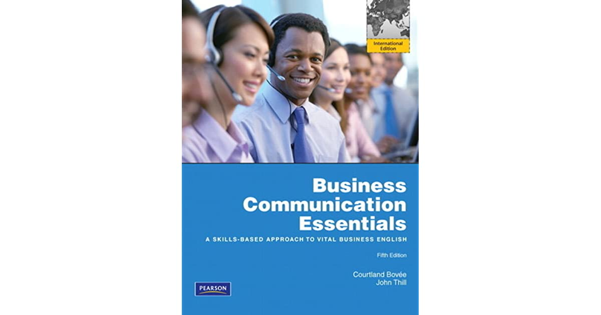 Business communication essentials by courtland l bove fandeluxe Gallery