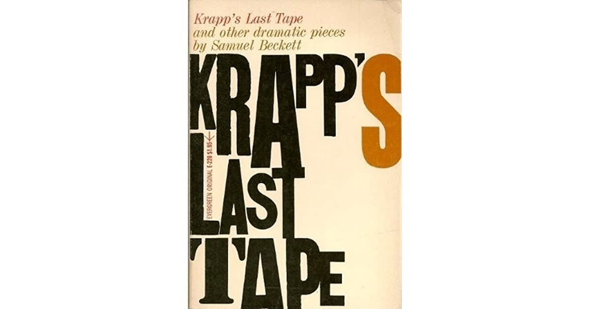 krapps last tape and the futility Michael colgan directs john hurt in the gate theatre production of samuel beckett's one-act tragedy, about a sixty-nine-year-old man looking back on his life.