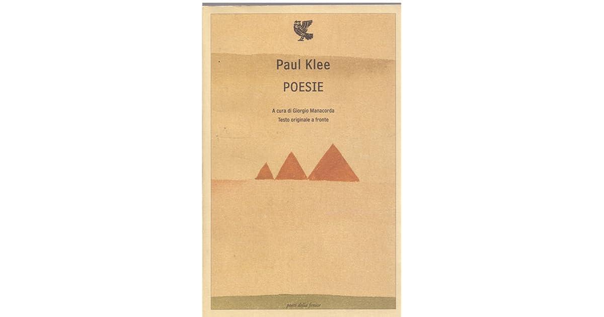 Poesie By Paul Klee