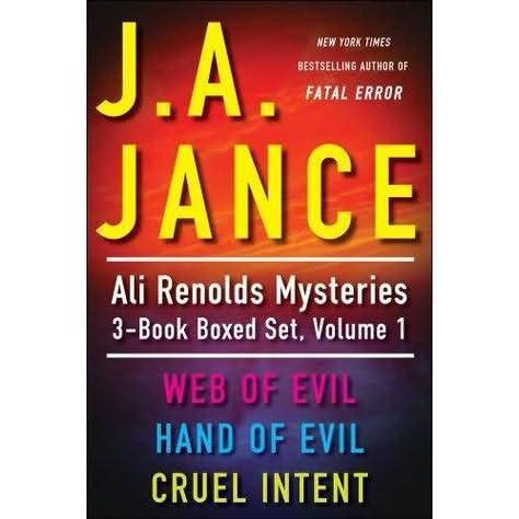 J.A. Jances Ali Reynolds Mysteries 3-Book Boxed Set, Volume 1