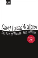 Das hier ist Wasser / This is water by David Foster Wallace