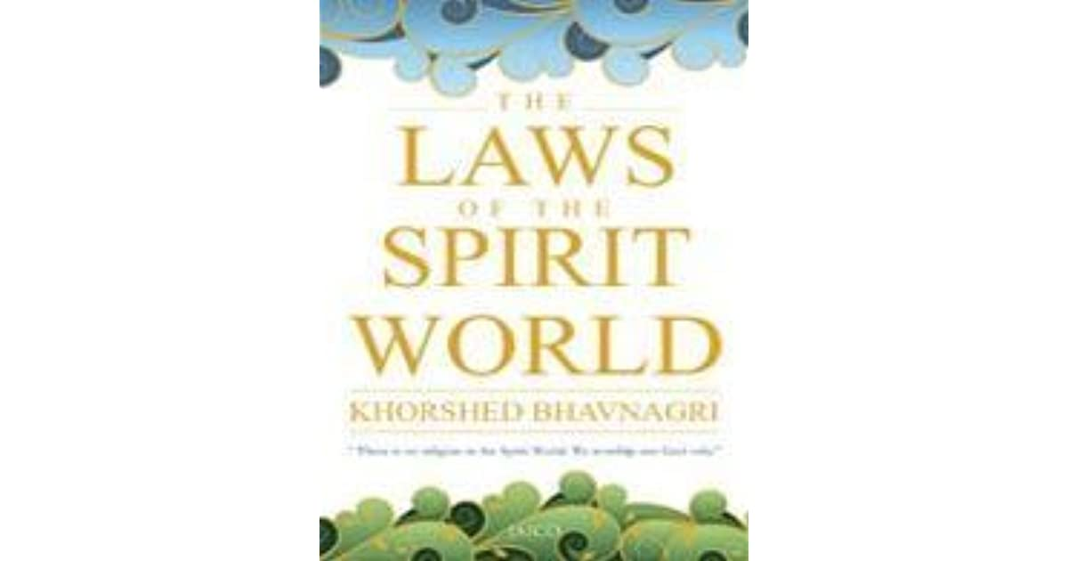 The Laws Of The Spirit World By Khorshed Bhavnagri Epub