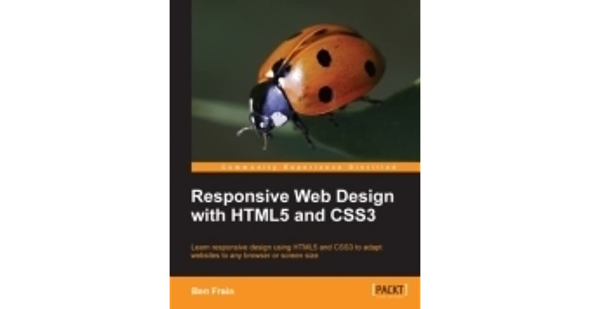responsive web design with html5 and css3 by ben frain pdf