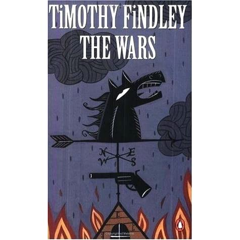 review of timothy findleys novel the wars Many novels have been written about the great wars, but few are as absorbing, captivating and still capable of showing all the horrors of the battle as timothy findley's the wars1 after reading the novel, critics and readers have been quick to point out the vast examples of symbolism shown.
