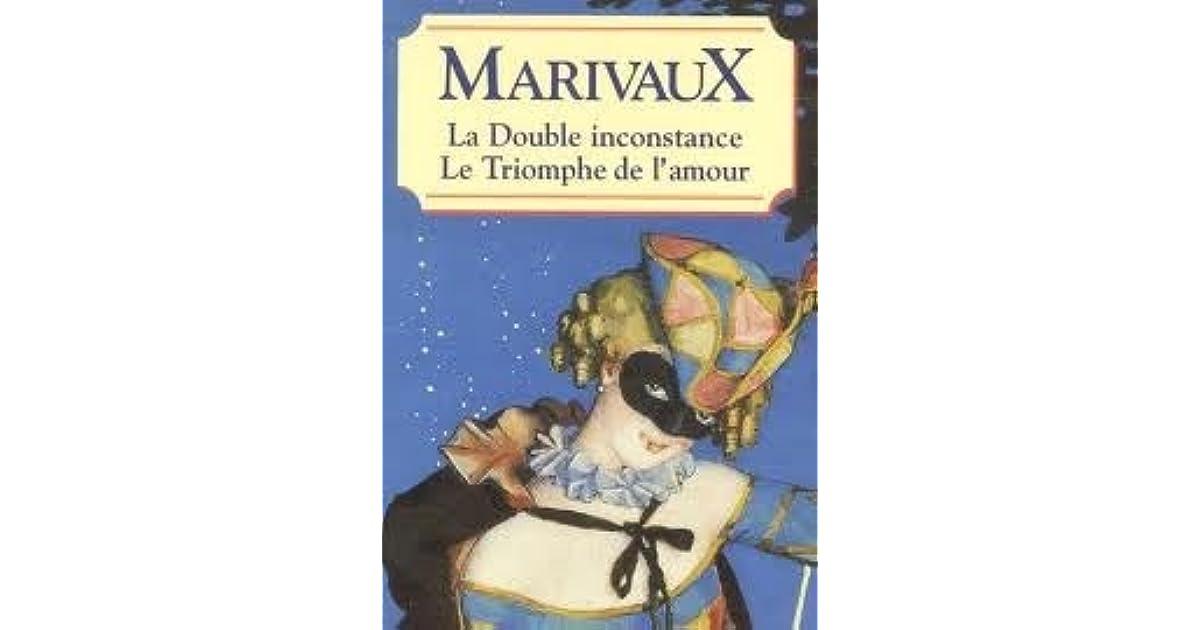 Couverture de La Double inconstance/ Le Triomphe de l'amour