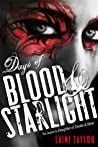 Book cover for Days of Blood & Starlight (Daughter of Smoke & Bone, #2)