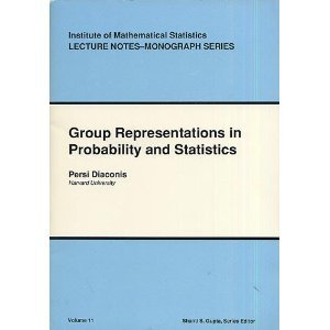 Group Representations In Probability And Statistics by Persi Diaconis