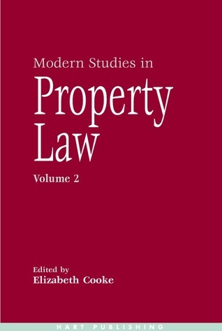 Modern Studies in Property Law  Volume 2