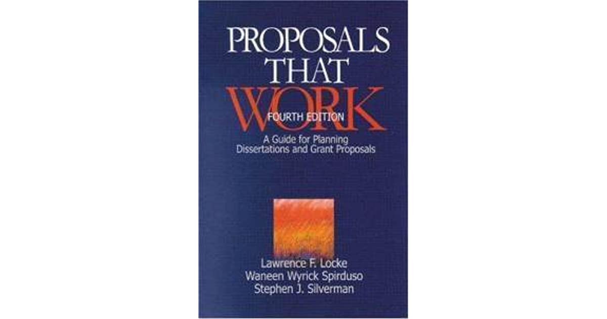 proposals for dissertation