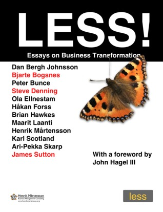 LESS!: Essays on Business Transformation