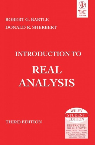 Introduction To Real Analysis By Robert G Bartle