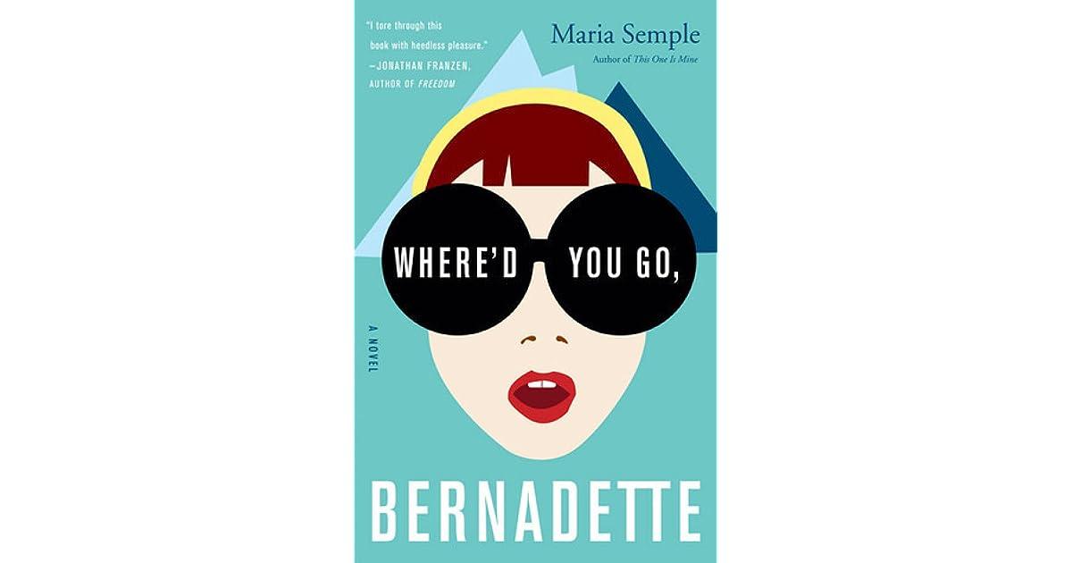 Where Did You Go Bernadette Epub