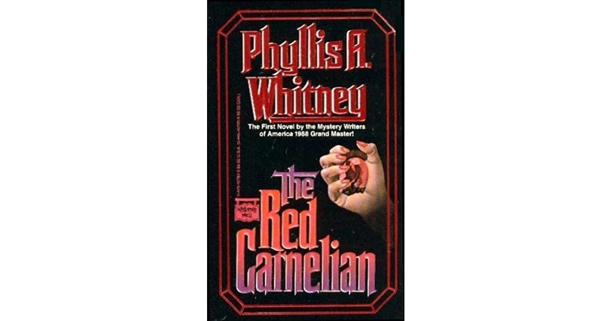 The Red Carnelian by Phyllis A  Whitney