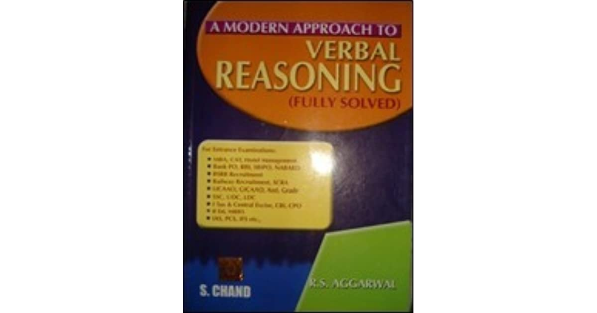 Rs Agarwal Reasoning Pdf 2013