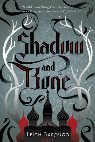 "Book cover of ""Shadow and Bone"" by Leigh Bardugo"