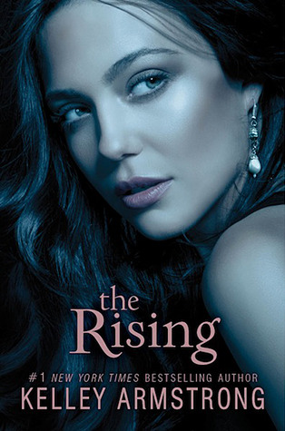 The Rising Book Three cover. Maya's face with the title on the cover only