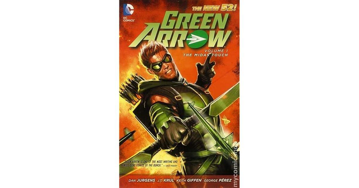 Green arrow volume 1 the midas touch by dan jurgens fandeluxe Images
