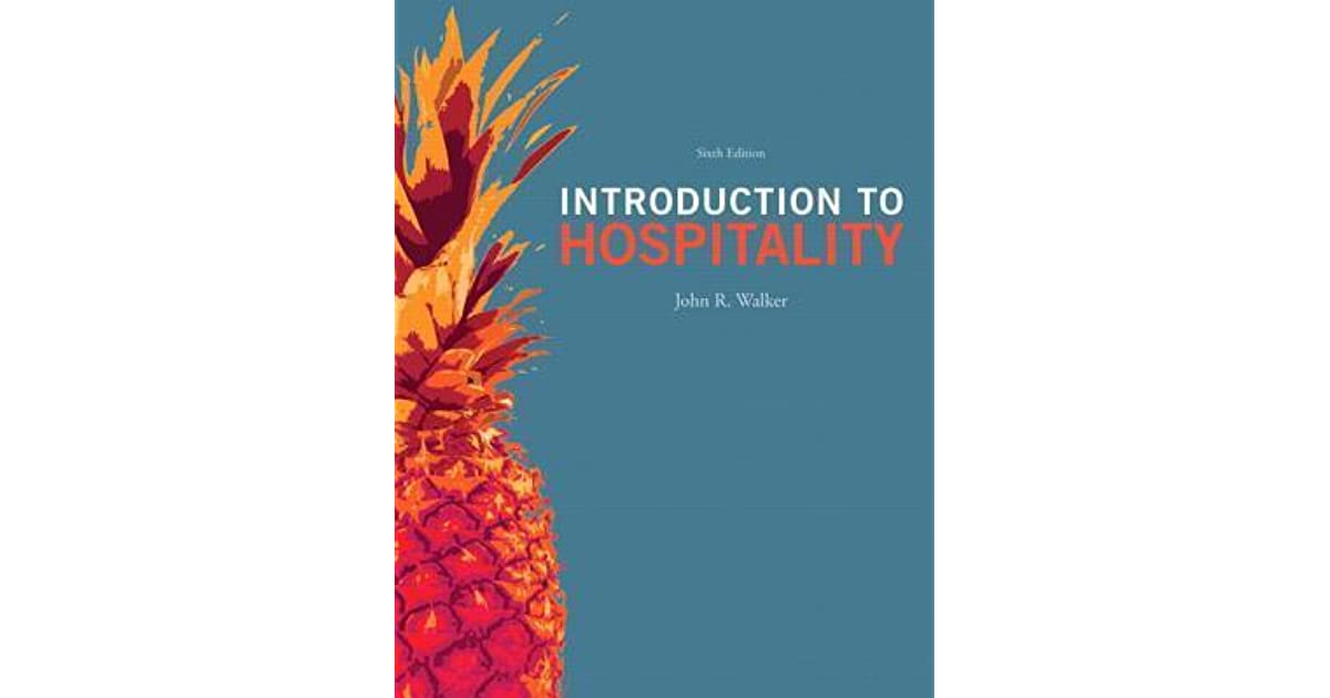 Introduction to hospitality by john r walker fandeluxe Gallery