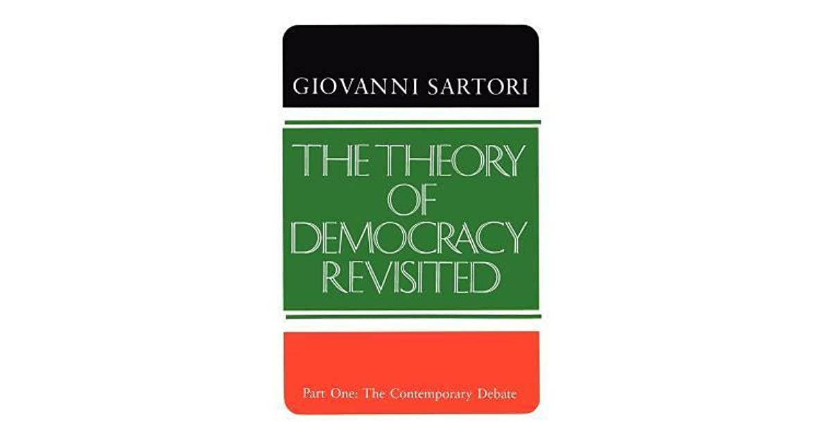 theory of democracy An economic theory of democracy has 158 ratings and 9 reviews this book seeks to elucidate its subject - the governing of democratic state - by making i.
