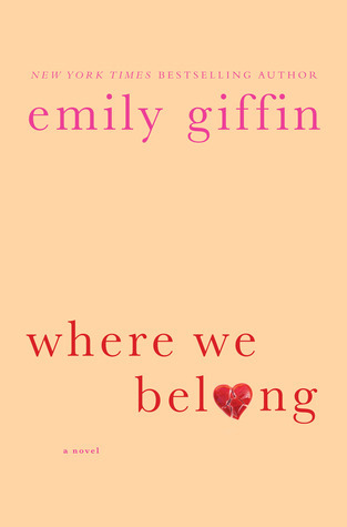 Where We Belong by Giffin Emily