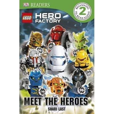 Lego Hero Factory Meet The Heroes Dk Readers L2 By Shari Last
