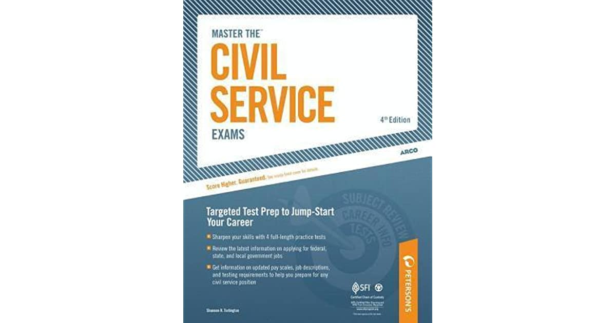 Master The Civil Service Exams By Peterson S