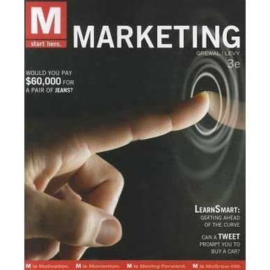 M marketing by dhruv grewal fandeluxe Choice Image