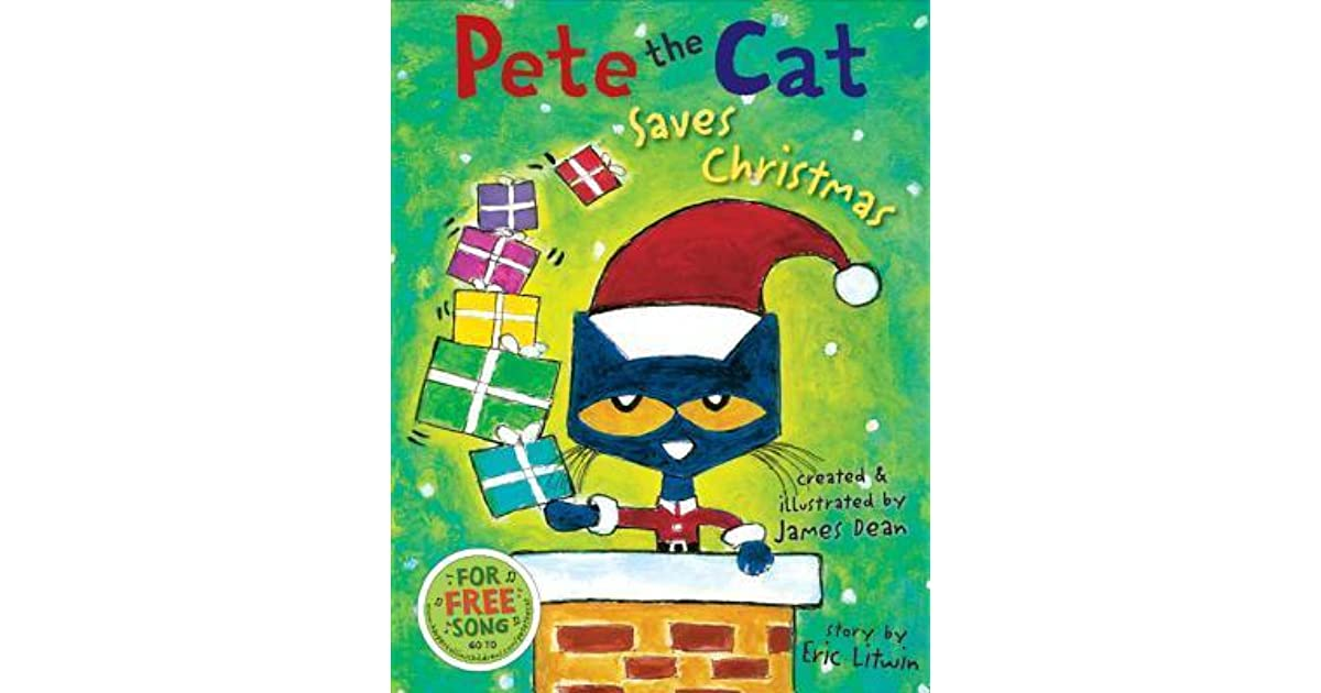 pete the cat saves christmas by eric litwin - Pete The Cat Saves Christmas
