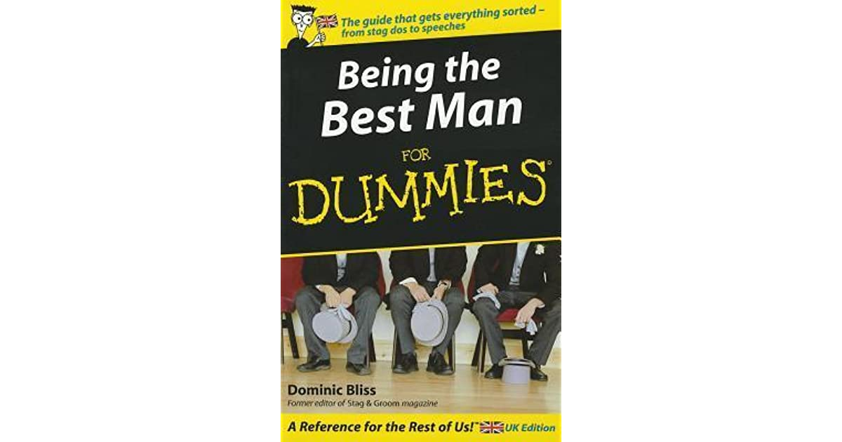 The ultimate guide to being the best Best Man