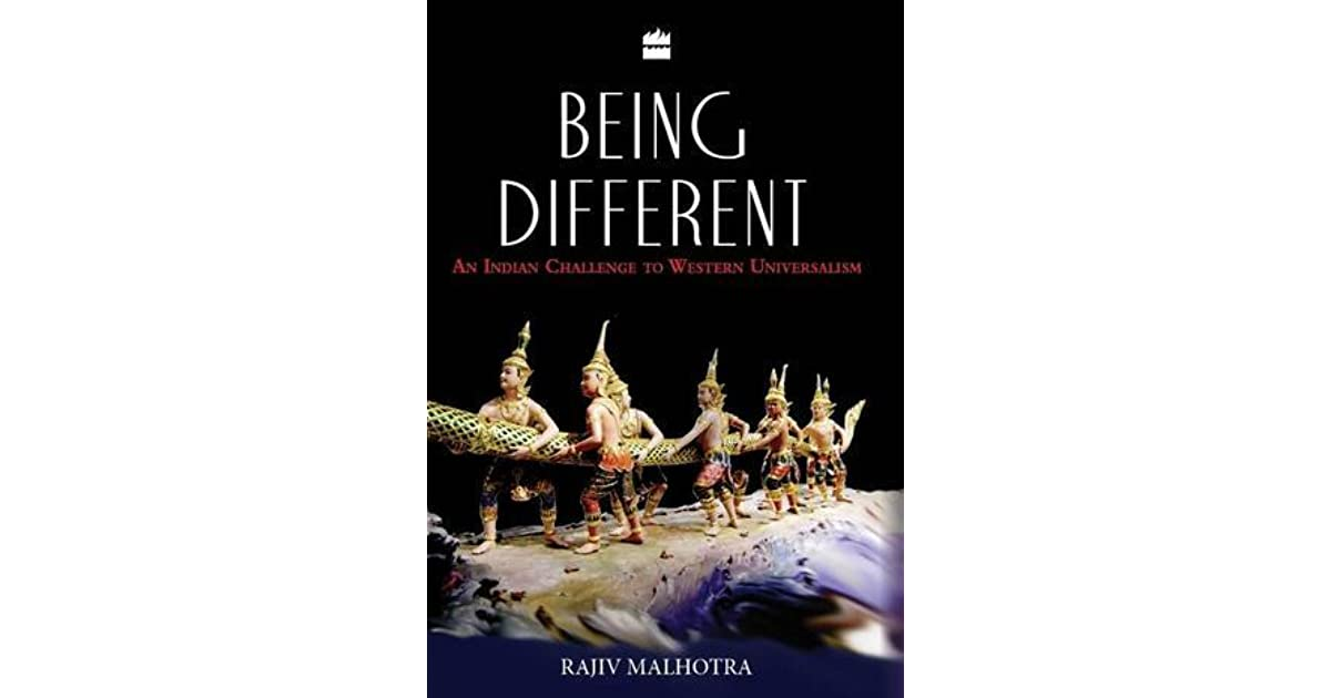 Being Different: An Indian Challenge to Western Universalism