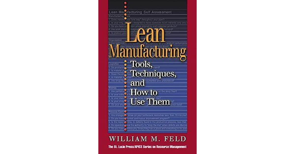lean manufacturing and its techniques in
