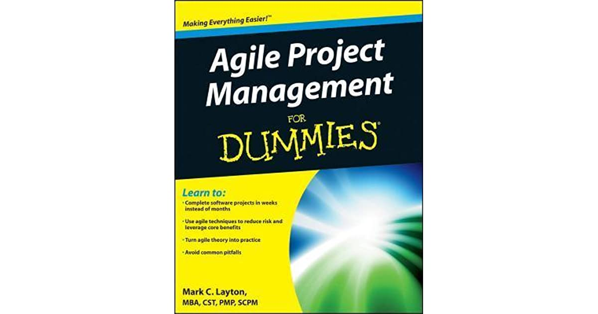 Agile Project Management for Dummies by Mark C  Layton