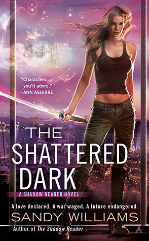 The Shattered Dark (Shadow Reader, #2)