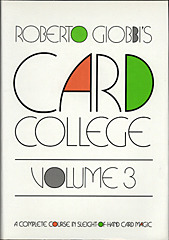 Card College Volume 3