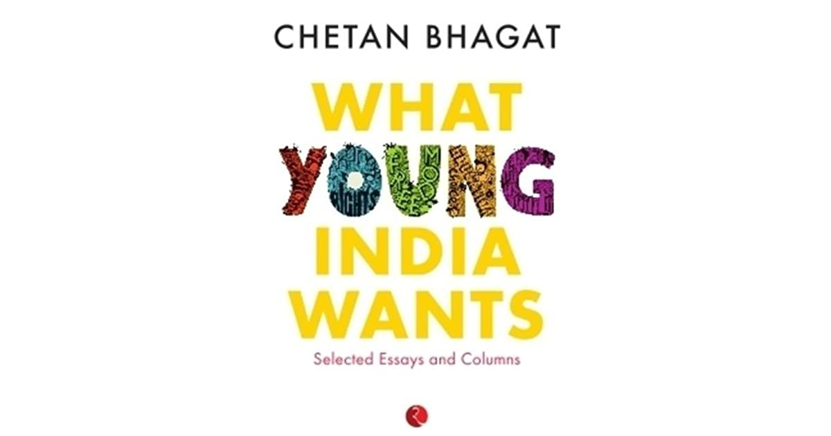 Chetan Bhagat New Book What Young India Wants