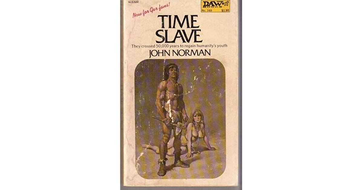 169 UW1204 John Norman 1975 Science Fiction Time Slave Very Good