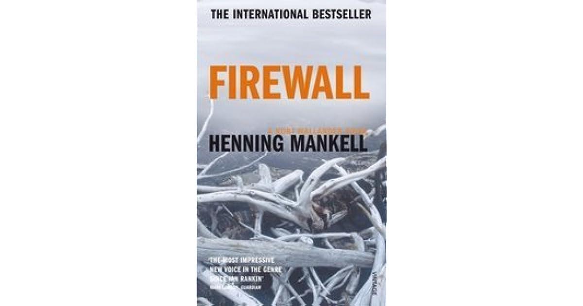 Firewall (Kurt Wallander, #8) by Henning Mankell