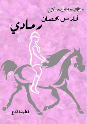 فارس بحصان رمادي