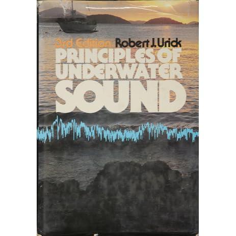 Pdf underwater sound principles of