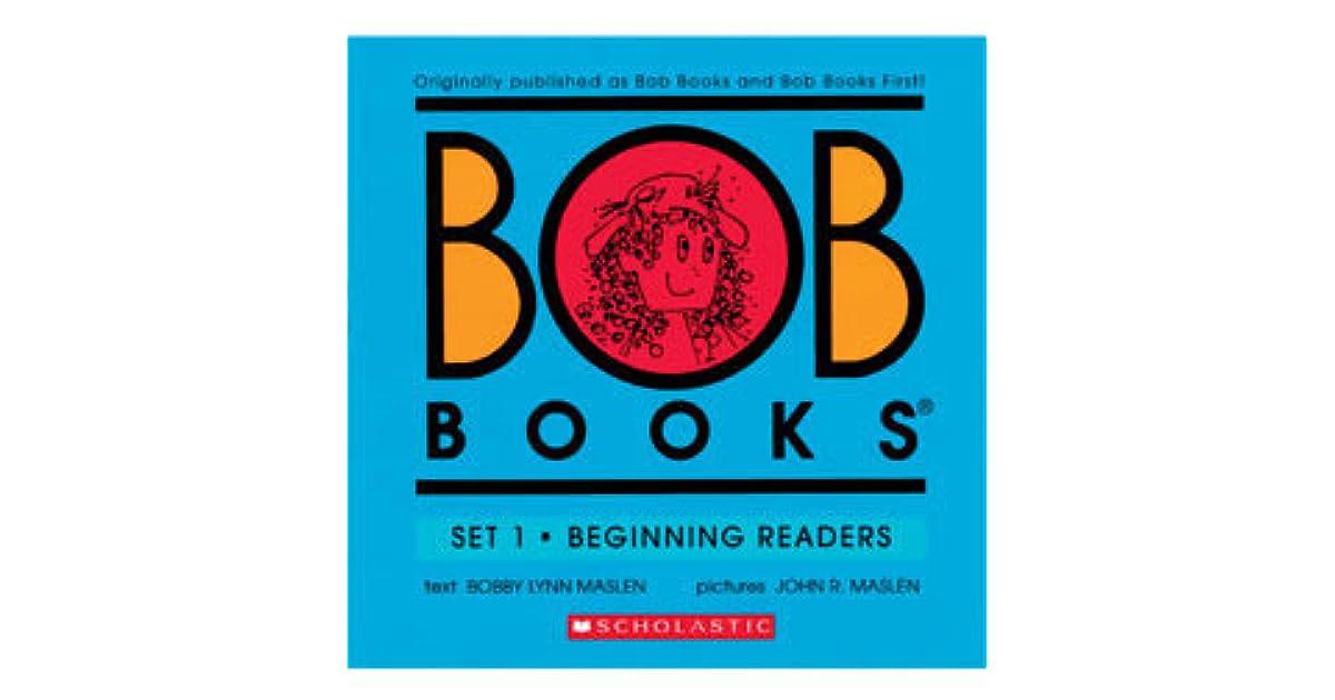 bob books set 1 beginning readers by bobby lynn maslen