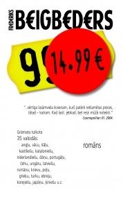 14,99 eiro by Frédéric Beigbeder