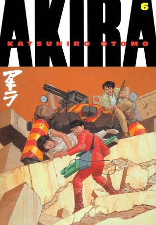 Cover of Akira, Vol. 6 by Katsuhiro Otomo