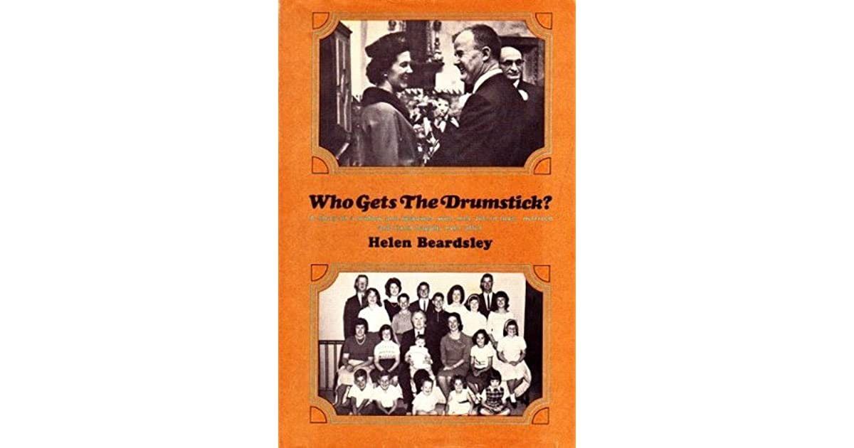 Robert Philadelphia Pa S Review Of Who Gets The Drumstick A Story Of A Widow And Widower Who Met Fell In Love Married And Lived Happily Ever After