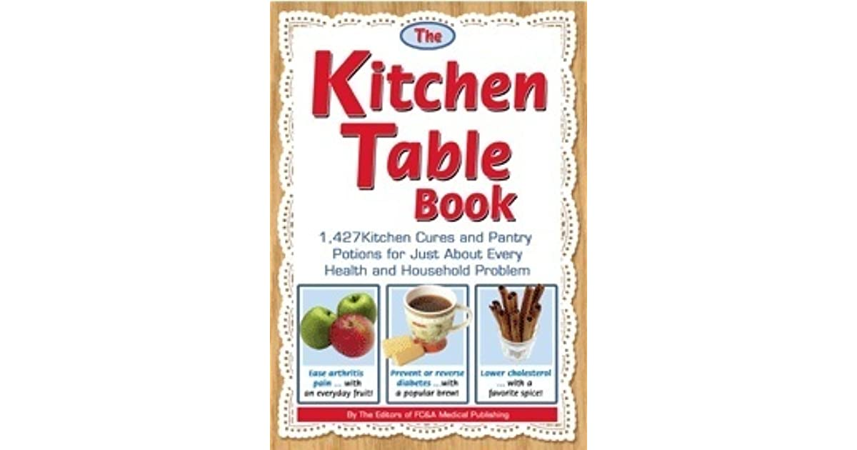 The kitchen table book by the editors of fc a workwithnaturefo