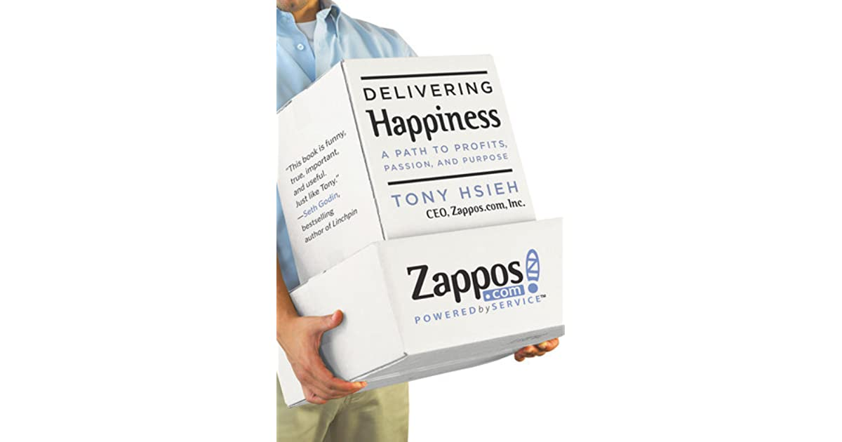 Cris Favero's review of Delivering Happiness