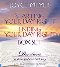 Starting Your Day Right/Ending Your Day Right Box Set: Devotions to Begin and End Each Day
